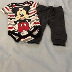 Other - Mickey Mouse onesie with pants